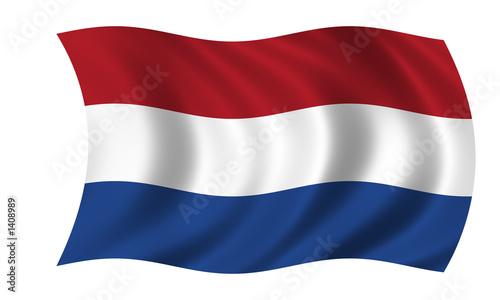 Fotografie, Obraz  niederlande fahne