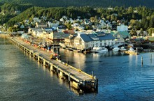 Leaving Ketchikan, Alaska
