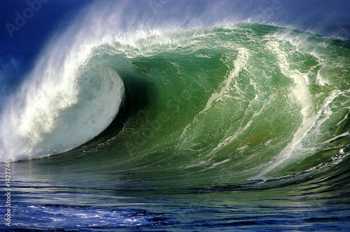 Foto-Rollo - waimea bay wave (von NorthShoreSurfPhotos)