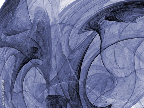 Photo inverted abstract shape