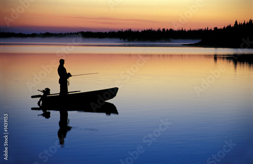 Acrylic Prints Fishing fishing