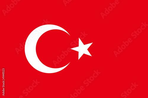 Fotografie, Obraz  türkei fahne