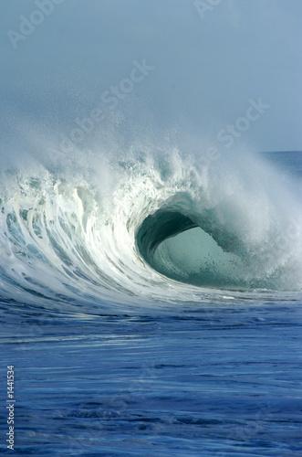 Foto-Kissen - breaking wave