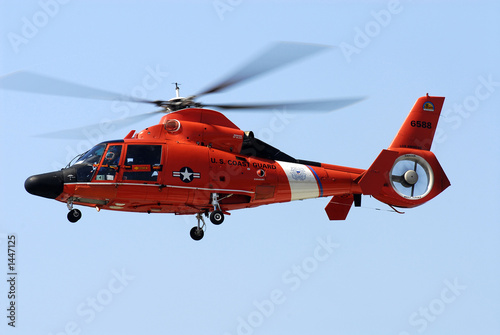 Canvas Prints Helicopter us coast guard helicopter