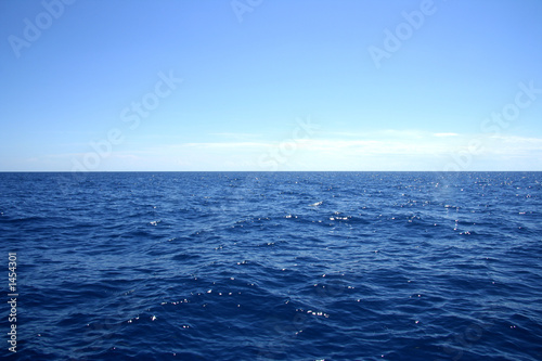Photo Stands Ocean horizon