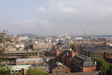 Nottingham City Skyline