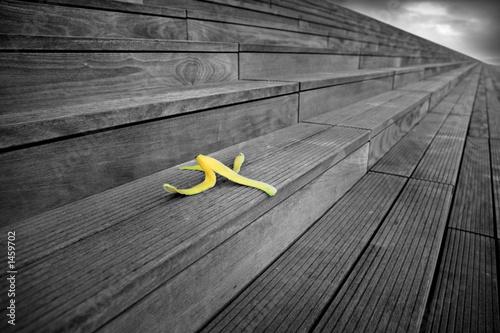 Photo peau de banane