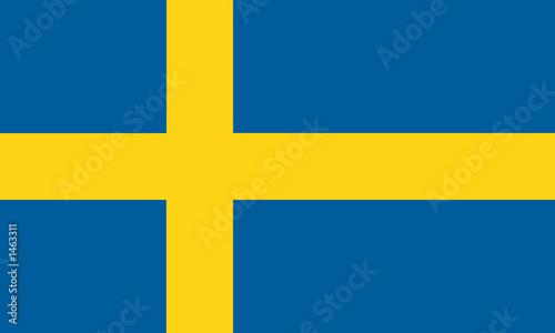Fotomural  schweden sweden fahne flag