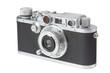 canvas print picture - vintage rangefinder camera 2