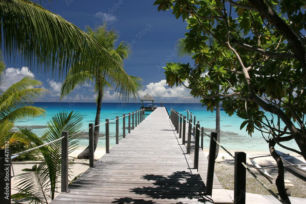 Fototapeta paradise island