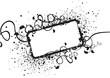 canvas print picture black and white design element