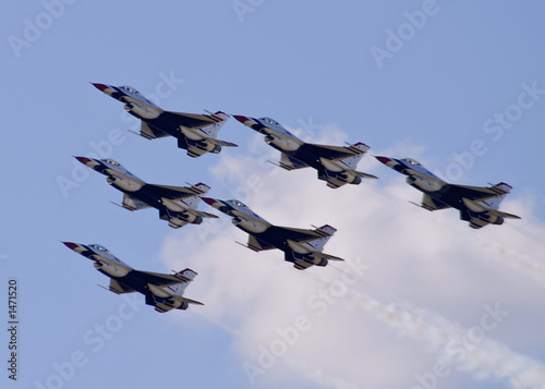 Fotografia, Obraz  thunderbird flyover