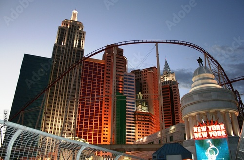 Spoed Foto op Canvas Las Vegas new york, new york