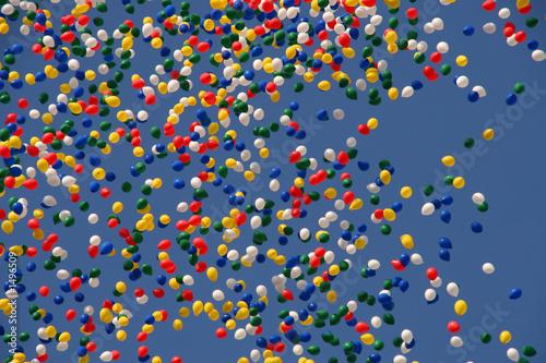 Fototapeta ballons obraz na płótnie