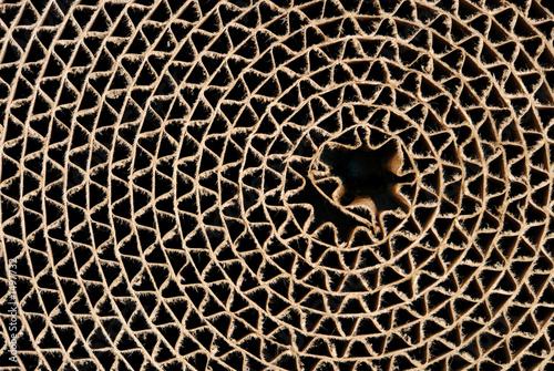 Foto  cardboard circle