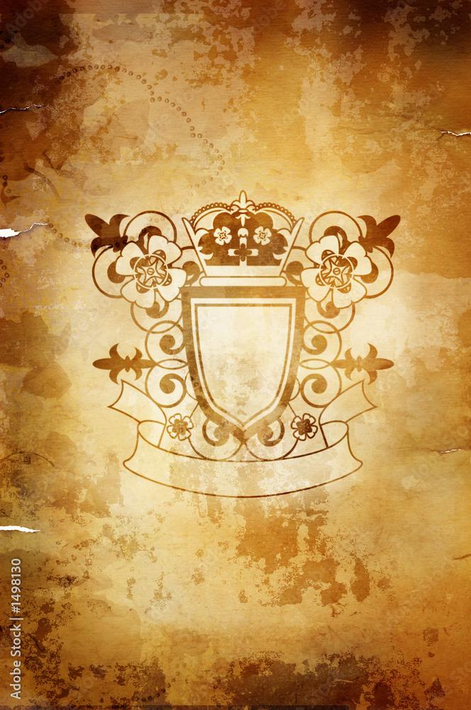 Foto-Stoff bedruckt - grunge symbol(vintage style,great for any design)