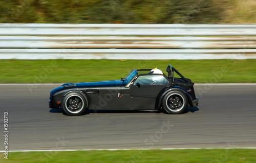 Deurstickers Snelle auto s car racing
