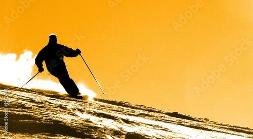 Cuadros en Lienzo skieur