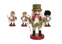 Holiday Nutcracker Statues
