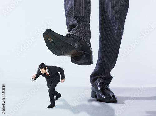 Fényképezés hommes d'affaires géant