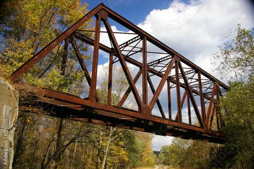 Valokuva  abandoned pennsylvania railroad trestle