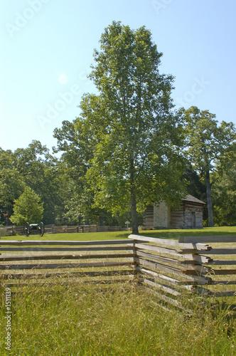 Slika na platnu chickamauga battlefield