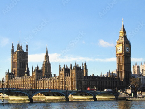 Foto-Flächenvorhang - parliament house london (von damn designs)