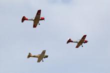 Three Dhc1 De Havilland Chipmu...