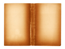Blank Pages Of An Ancient Book