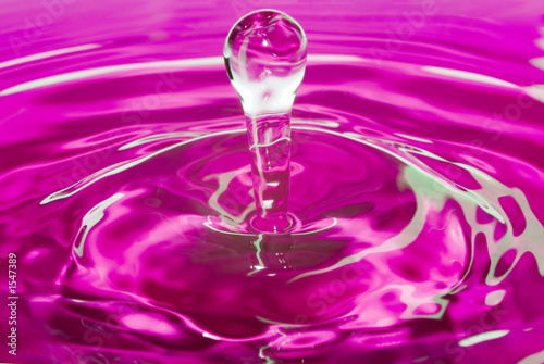 purple water pin