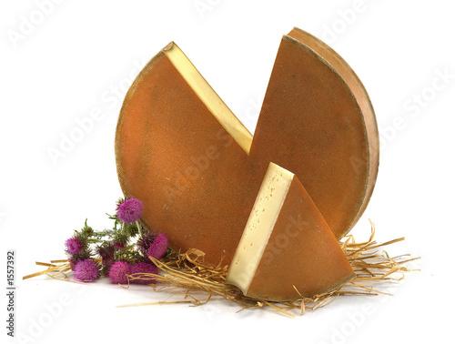 Valokuvatapetti meule de fromage de montagne