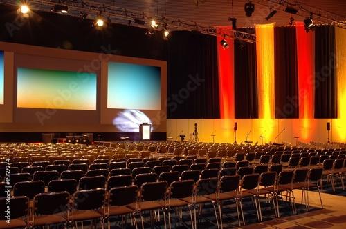 Fotografía  colourful conference room