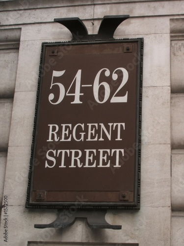 Photo  regent street