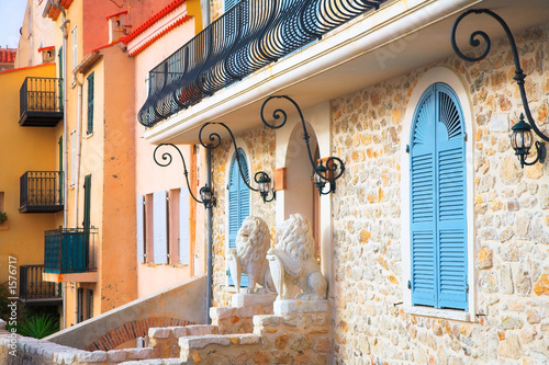 entrance to the house in antibes france Wallpaper Mural