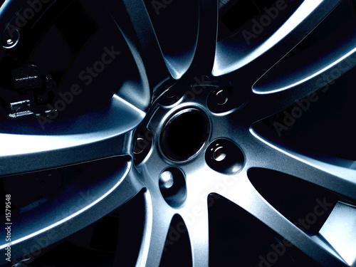 alloy wheel Canvas Print
