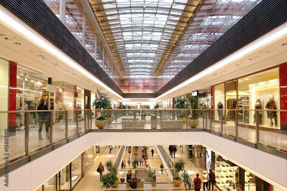 Fototapeta shopping mall