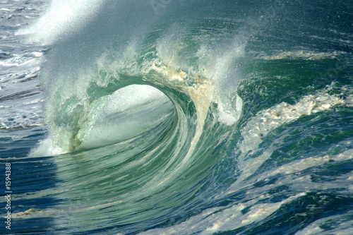 Staande foto Water wave