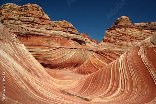 Fotografie, Obraz  the wave sandstone curves