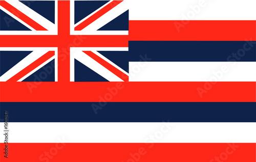 flaga hawajska