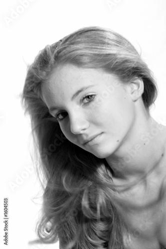 Poster Portrait Aquarelle simple beauty