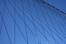 Brooklyn Bridge Cables New York City Detail