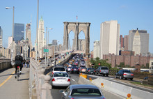 Traffic Jam Brooklyn Bridge
