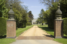 Entrance To Stately Home