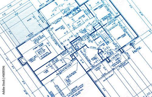 Fotografie, Obraz  house plan
