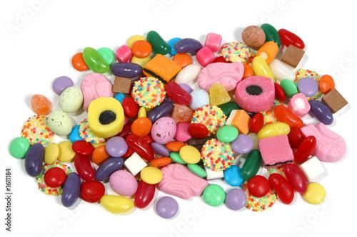 Foto op Aluminium Snoepjes pile of sweets