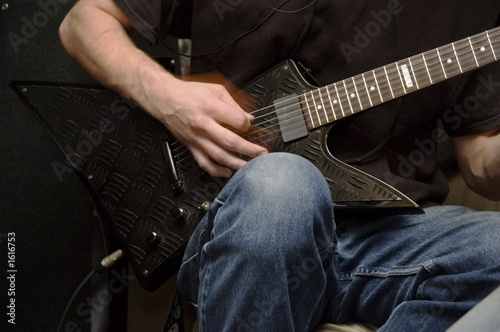 Fotografie, Tablou electric guitar