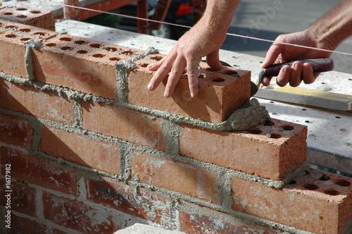 Fotografía  bricklayer