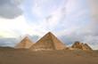 Leinwandbild Motiv hdr pyramids