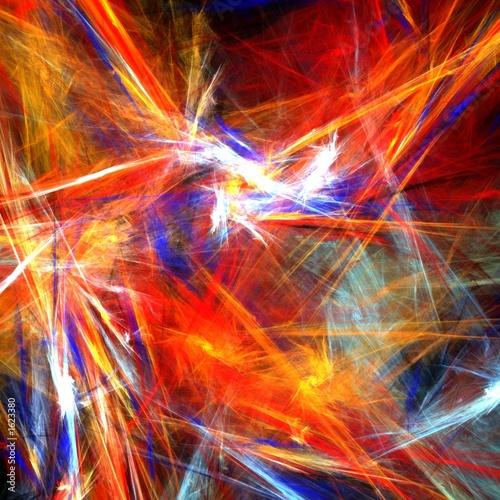 bright  colorful strokes