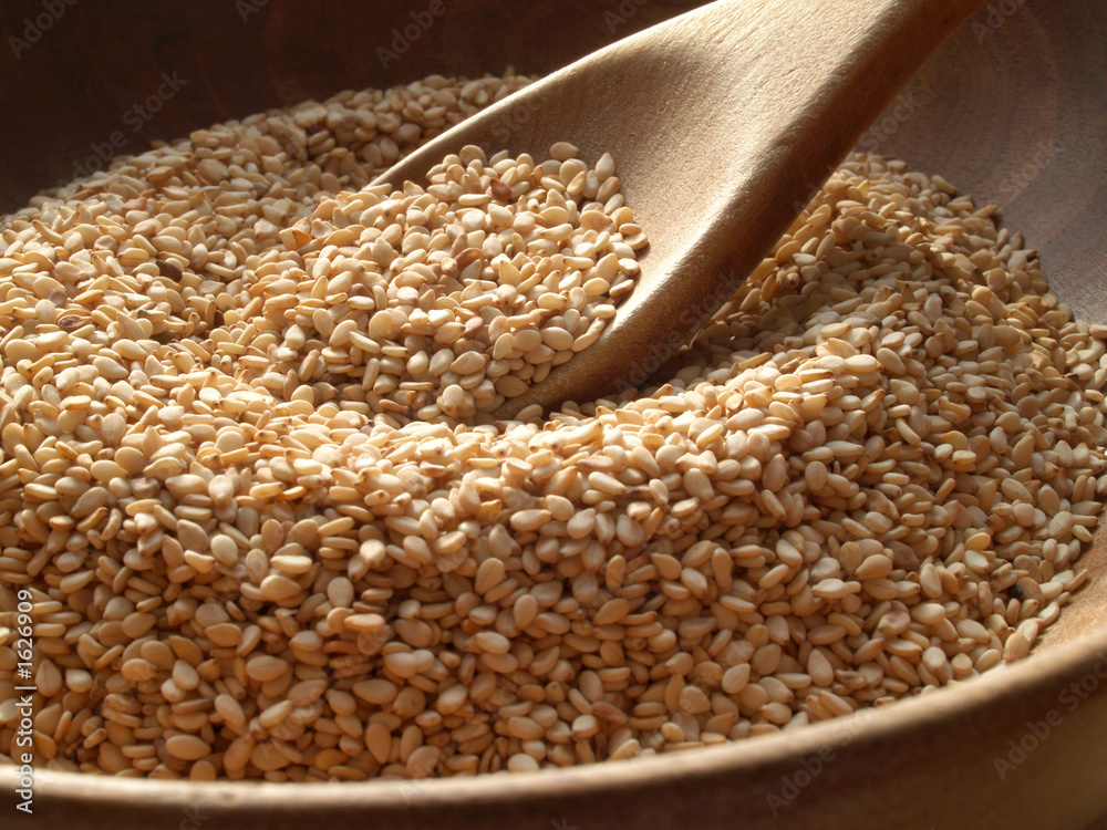 Fototapety, obrazy: sesame seeds